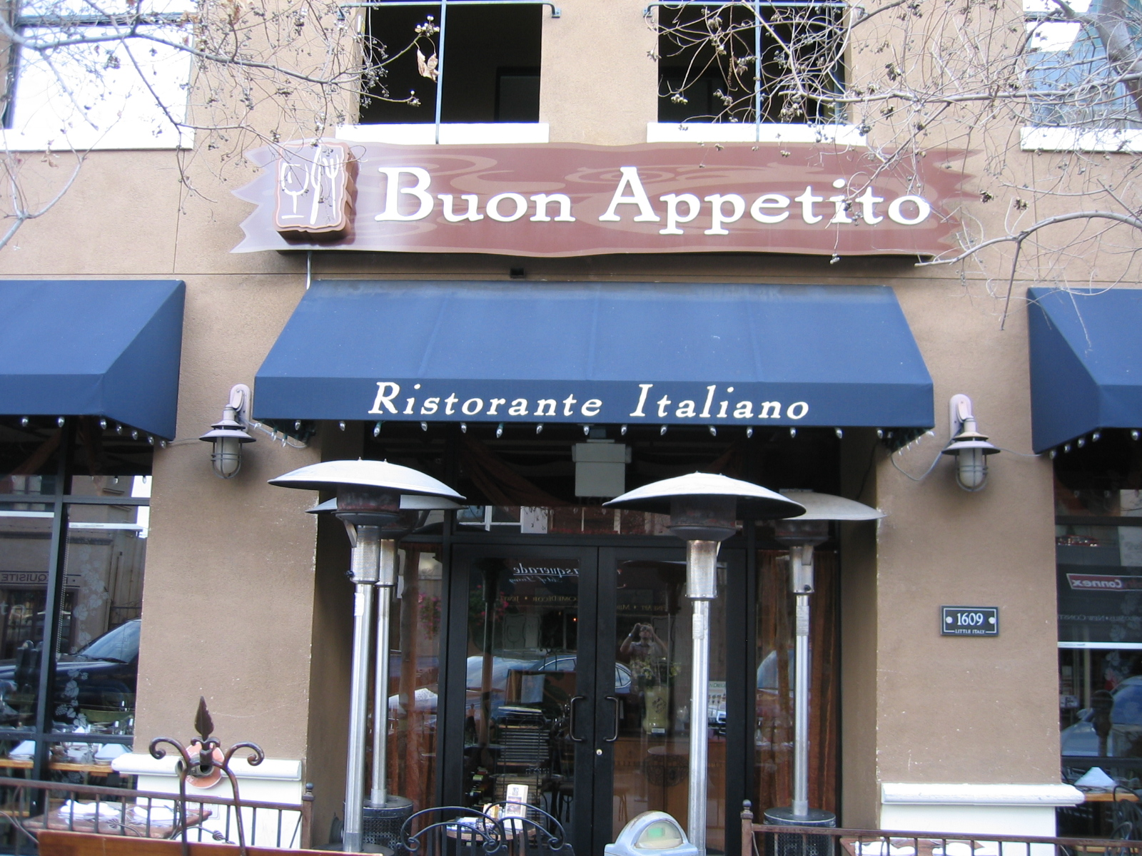 We Live In San Diego Little Italy Restaurant Buon Appetito
